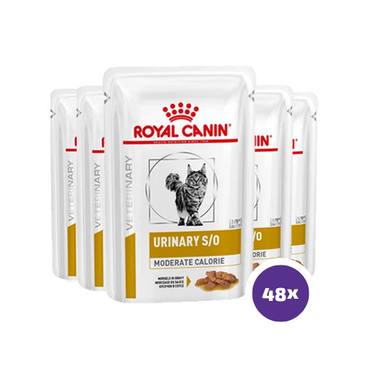 Royal Canin Feline Urinary S/O Moderate Calorie Wet 48 x 85 g