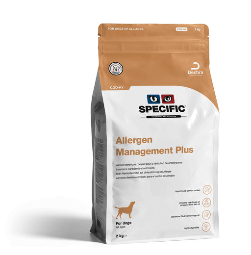 Specific CΩD-HY Allergen Management Plus Dry 2 kg