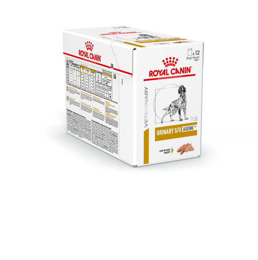 Royal Canin Canine Urinary S/O Ageing 7+ wet 12 x 85g