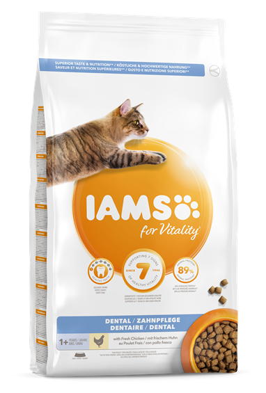 Iams Feline Adult Dental Dry 3 kg