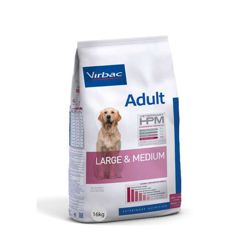 Virbac HPM Adult Dog Large & Medium 16 kg