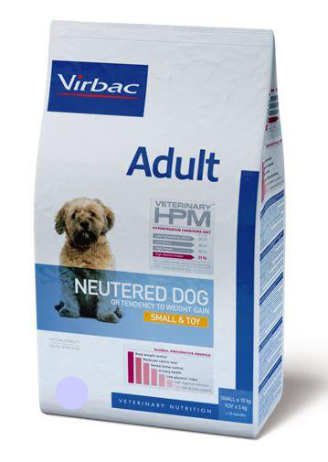 Virbac HPM Adult Neutered Dog Small & Toy 7 kg TARJOUS