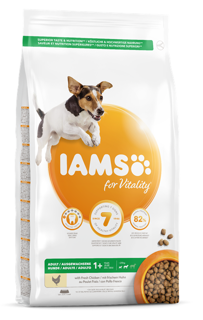 Iams Canine Adult Small & Medium Chicken Dry 12 kg