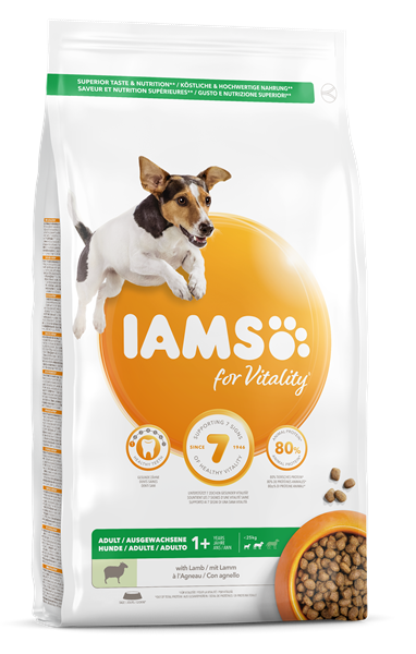 Iams Canine Adult Small & Medium Lamb 12 kg
