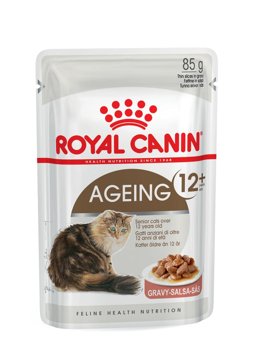Royal Canin Feline Ageing 12+ in Gravy 12 x 85 g