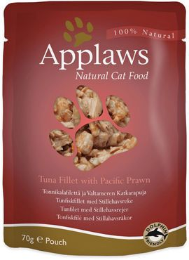 Applaws Cat Tonnikala & Katkarapu 12 x 70g