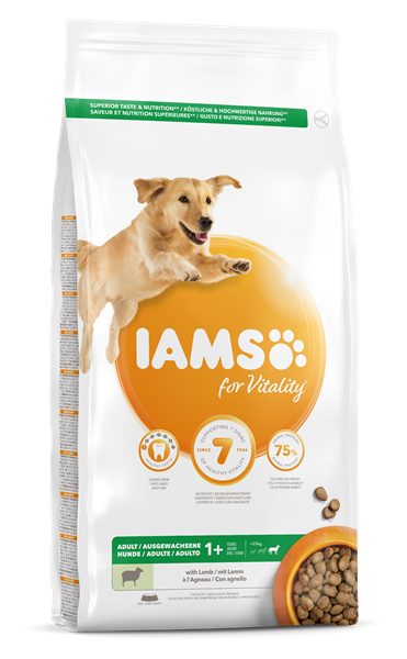 Iams Canine Adult Large Lamb 12 kg