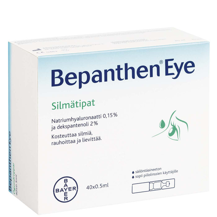Bepanthen Eye Silmätipat 40 x 0,5 ml