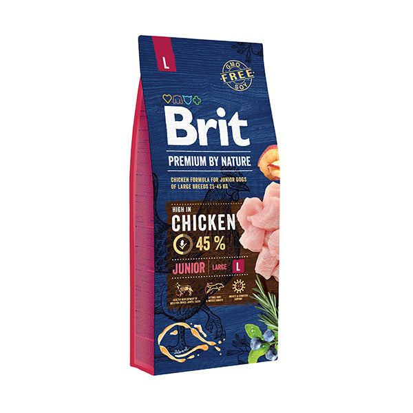 Brit Premium By Nature Junior L 15 kg