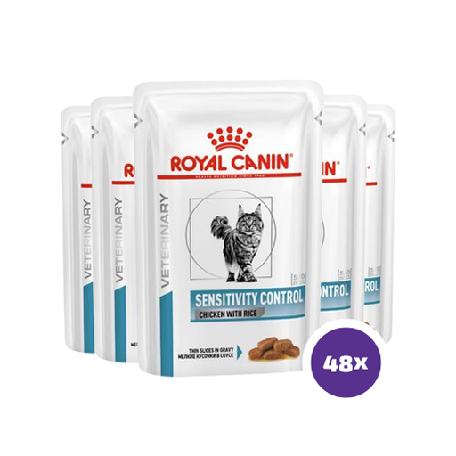 Royal Canin Feline Sensitivity Control Chicken Wet 48 x 85 g