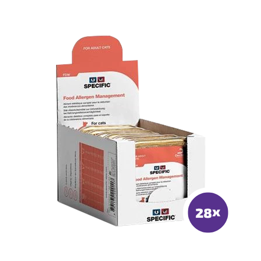 Specific FDW Food Allergen Management Wet 28 x 100 g