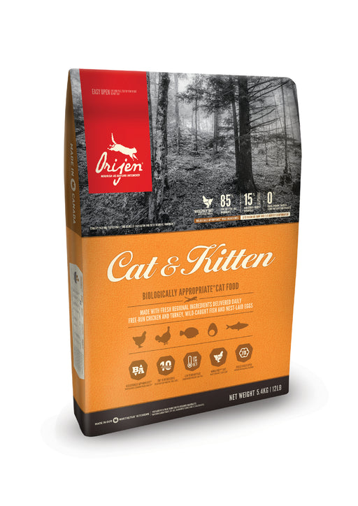 Orijen Cat & Kitten kissalle 5,4 kg