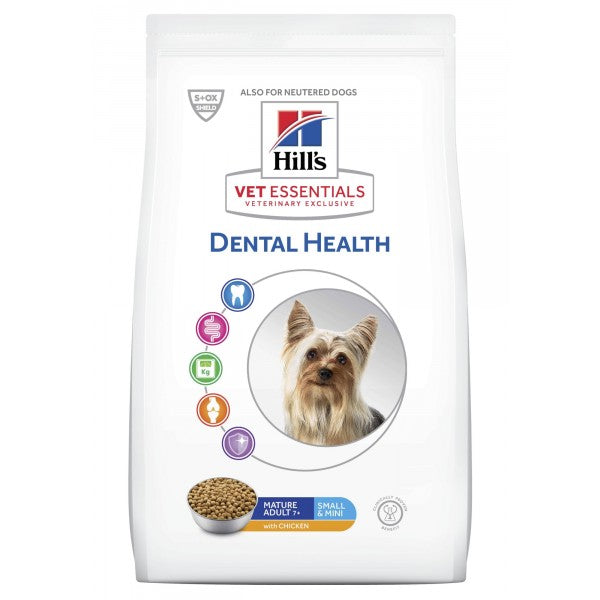 Hill's Vet Essentials Canine Mature Adult Dental Health Small & Mini 2 kg
