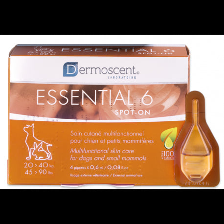 Dermoscent Essential 6 koiralle 20 - 40 kg