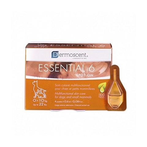 Dermoscent Essential 6 koiralle 0 - 10 kg