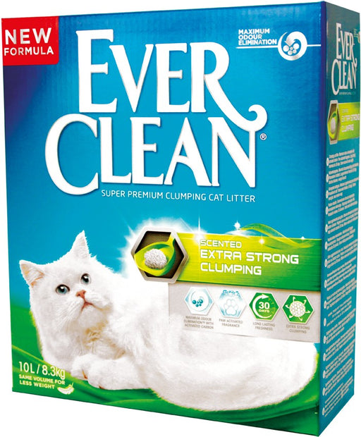 EverClean Scented Extra Strong Clumping kissanhiekka 6 L