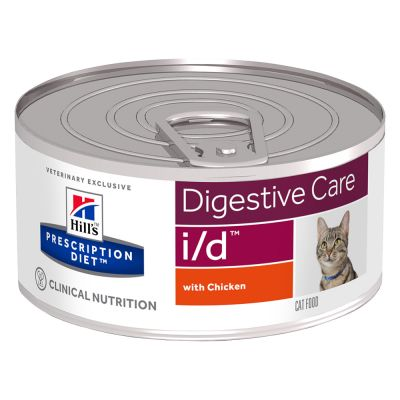 Hill's Feline i/d Minced With Chicken Wet 156 g