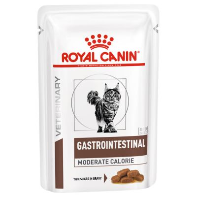 Royal Canin Feline Gastro Intestinal Moderate Calorie Wet 12 x 85 g