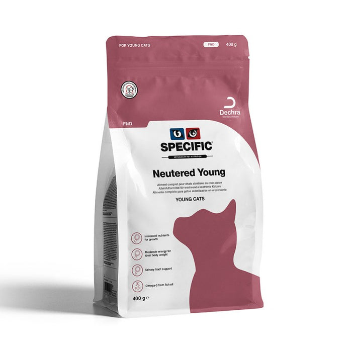 Specific FND Neutered Young Dry 400 g