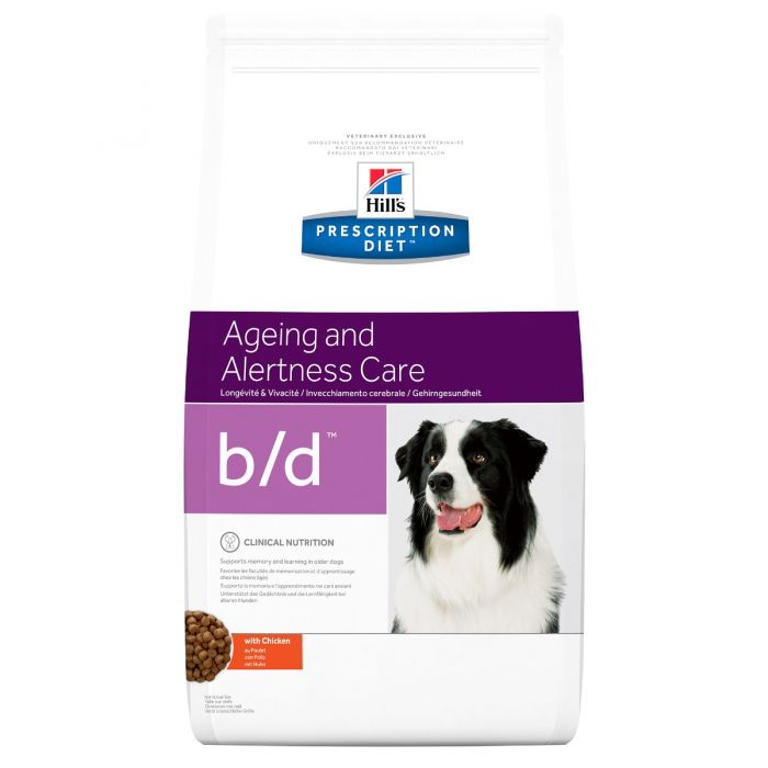 Hill's Canine b/d Ageing and Alertness Care Dry 12 kg