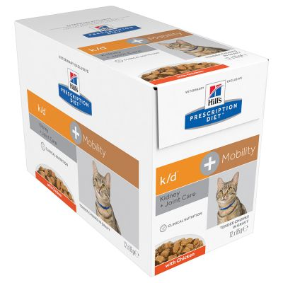 Hill's  Feline k/d + mobility Chicken Wet 12 x 85 g