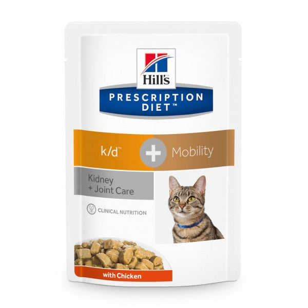 Hill's  Feline k/d + mobility Chicken Wet 85 g