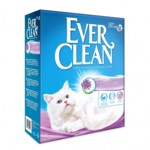 EverClean Lavender kissanhiekka 10 L
