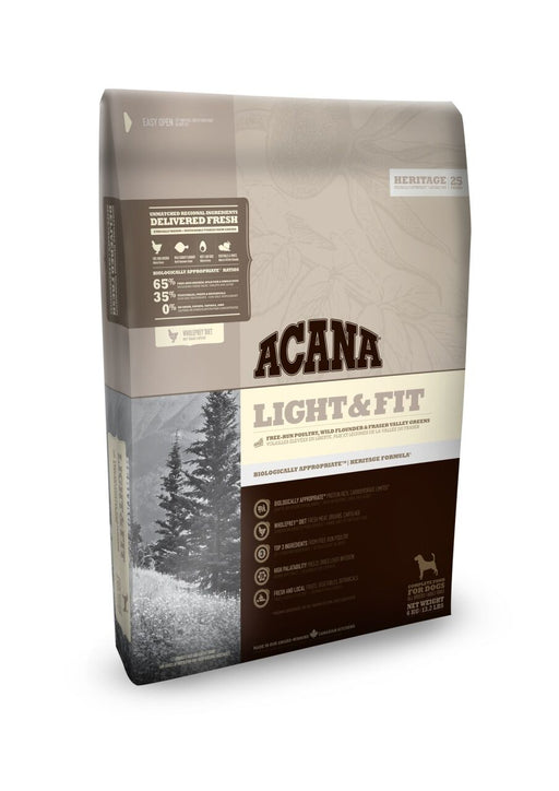 Acana Light & Fit koiralle 11,4 kg