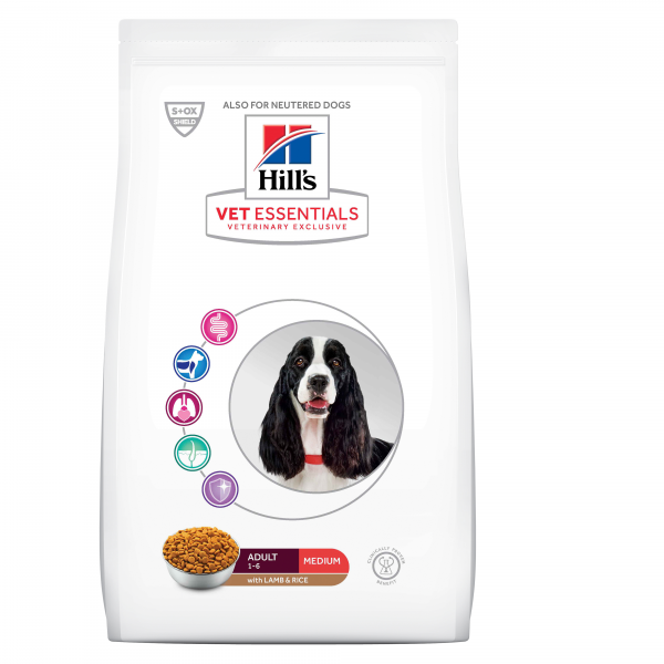 Hill's Vet Essentials Canine Adult Medium Lamb & Rice 2 kg