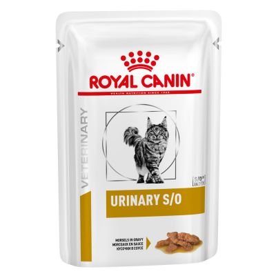 Royal Canin Feline Urinary S/O Morsels In Gravy/palasia kastikkeessa 12 x 85g