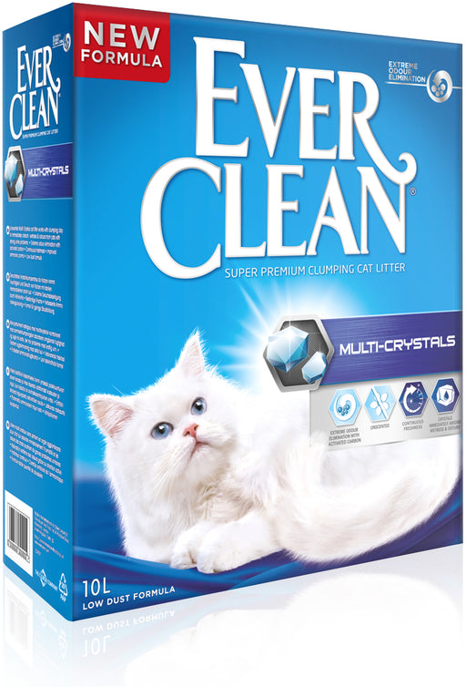 EverClean Multi-Crystals kissanhiekka 10 L