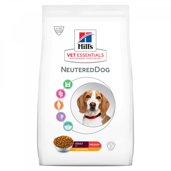 Hill's Vet Essentials Neutered Dog Medium 2 kg