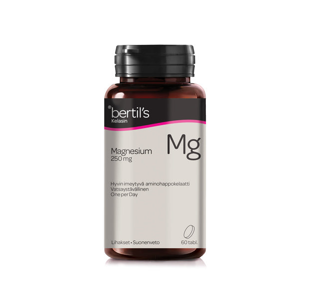 Bertil's Magnesium - One Per Day 60 tablettia