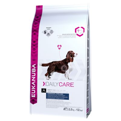 Eukanuba Canine Daily Care Overweight, sterilised 16,5 kg