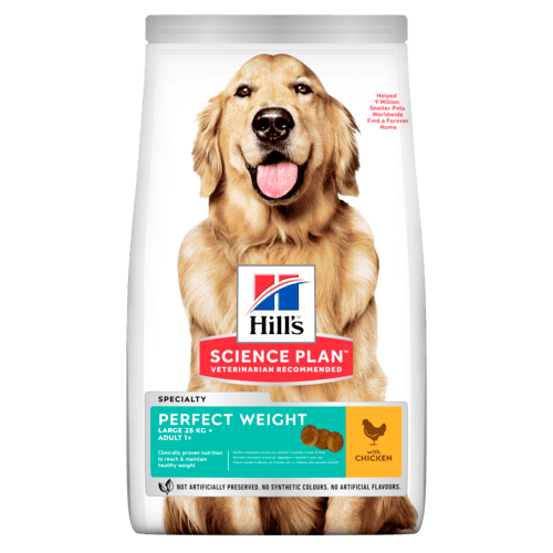 Hill's SP Perfect Weight Large Adult Dog, kana 12 kg