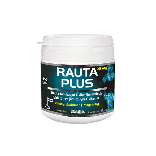 Vitabalans Rauta Plus 25 mg