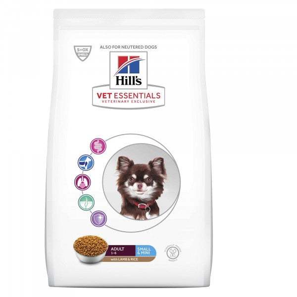 Hill's Vet Essentials Canine Adult Small & Mini, Lamb & Rice 2 kg