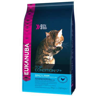 Eukanuba Feline Top Condition 7+ Dry 400 g