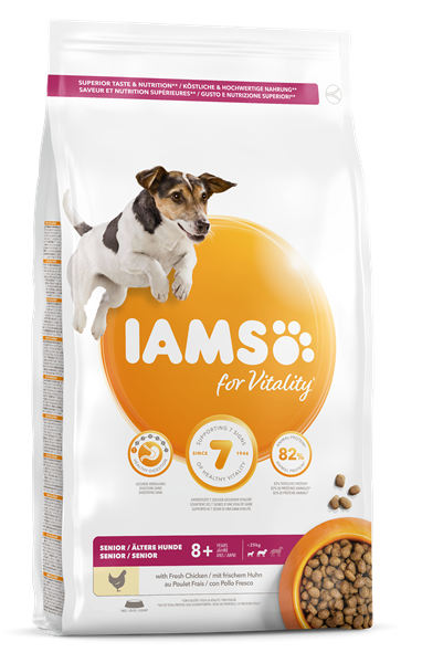 Iams Canine Senior Small & Medium 12 kg
