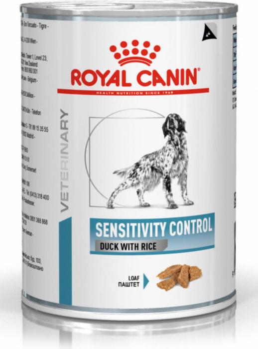 Royal Canin Canine Sensitivity Control Duck Wet 12 x 420 g