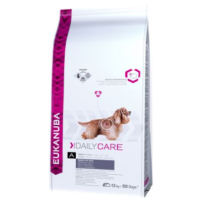 Eukanuba Canine Daily Care Sensitive Skin 16,5 kg