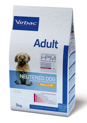 Virbac HPM Adult Neutered Dog Small & Toy 7 kg