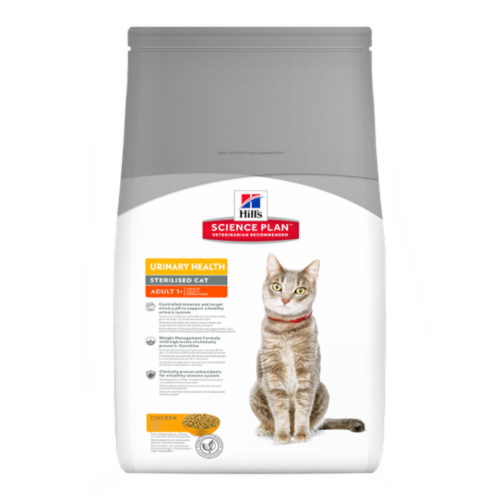 Hill's Feline Adult Urinary Health Sterilised Dry 1,5 kg
