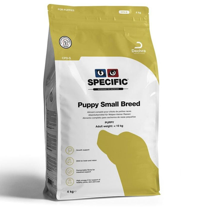 Specific CPD-S Puppy Small Breed Dry 4 kg
