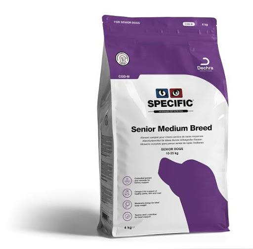 Specific CGD-M Senior Medium Breed Dry 4 kg