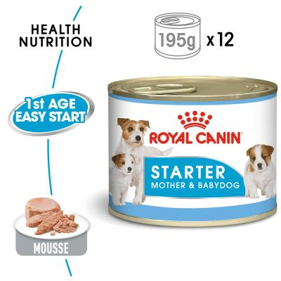 Royal Canin Starter Mother and Babydog Wet  12 x 195 g