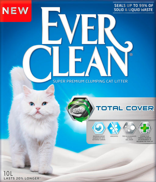 EverClean kissanhiekka 10 kg Total Cover