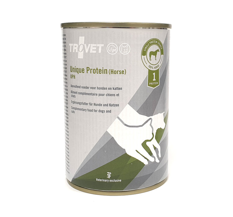 Trovet Unique Protein UPH (Horse) Koiralle ja Kissalle 6 x 400 g