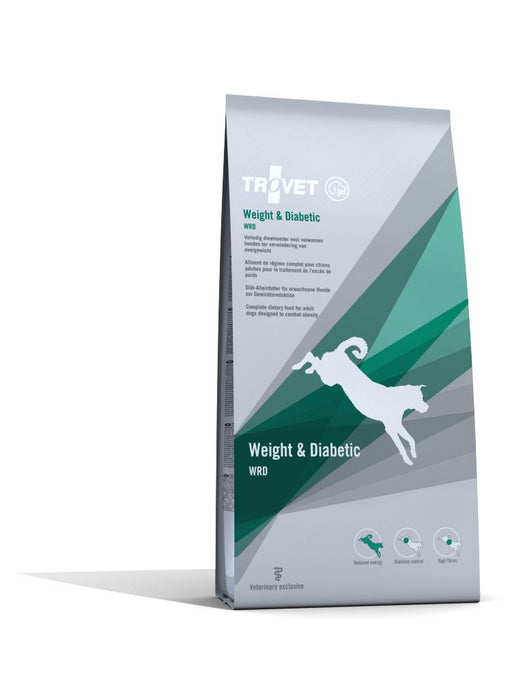 Trovet WRD Weight and Diabetic Dry koiralle 12,5 kg