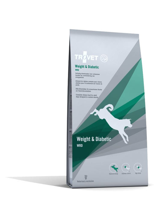 Trovet WRD Weight and Diabetic Dry koiralle 3 kg